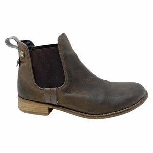 Steve Madden | Brown Leather Gilte Chelsea Boots